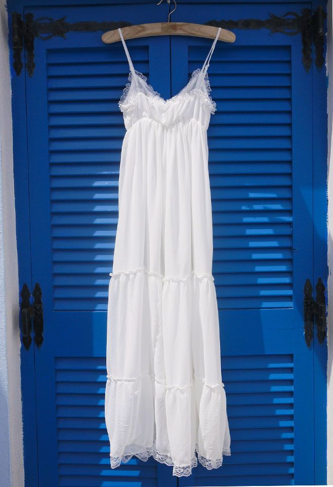 Beloved Summer Maxi Chiffon Dress