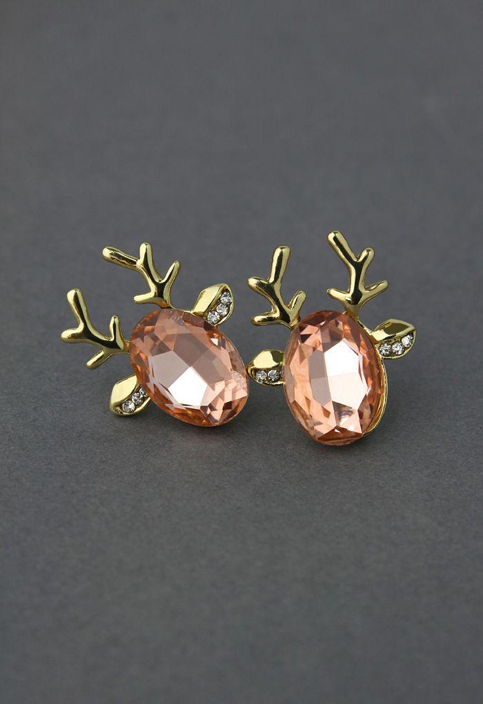 Deer Beads Earrings