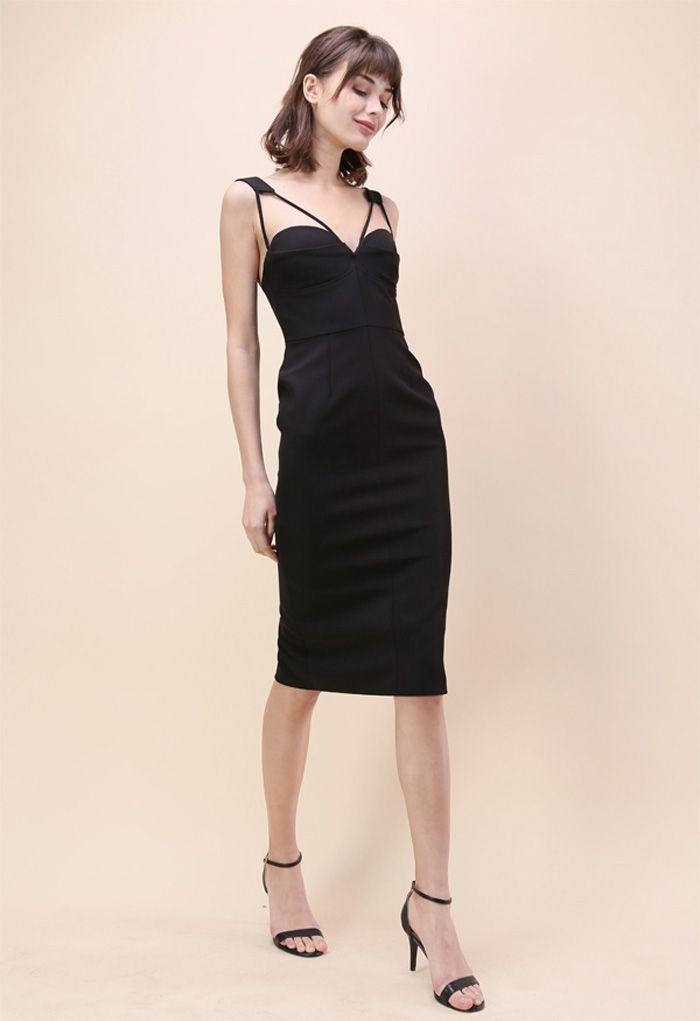 My Style Recipe Dress in Black