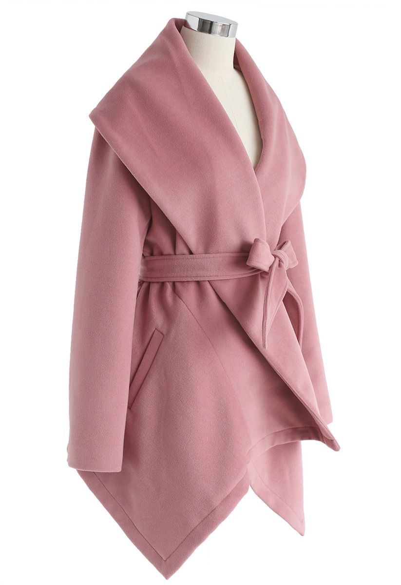 Prairie Rabato Coat in Pink