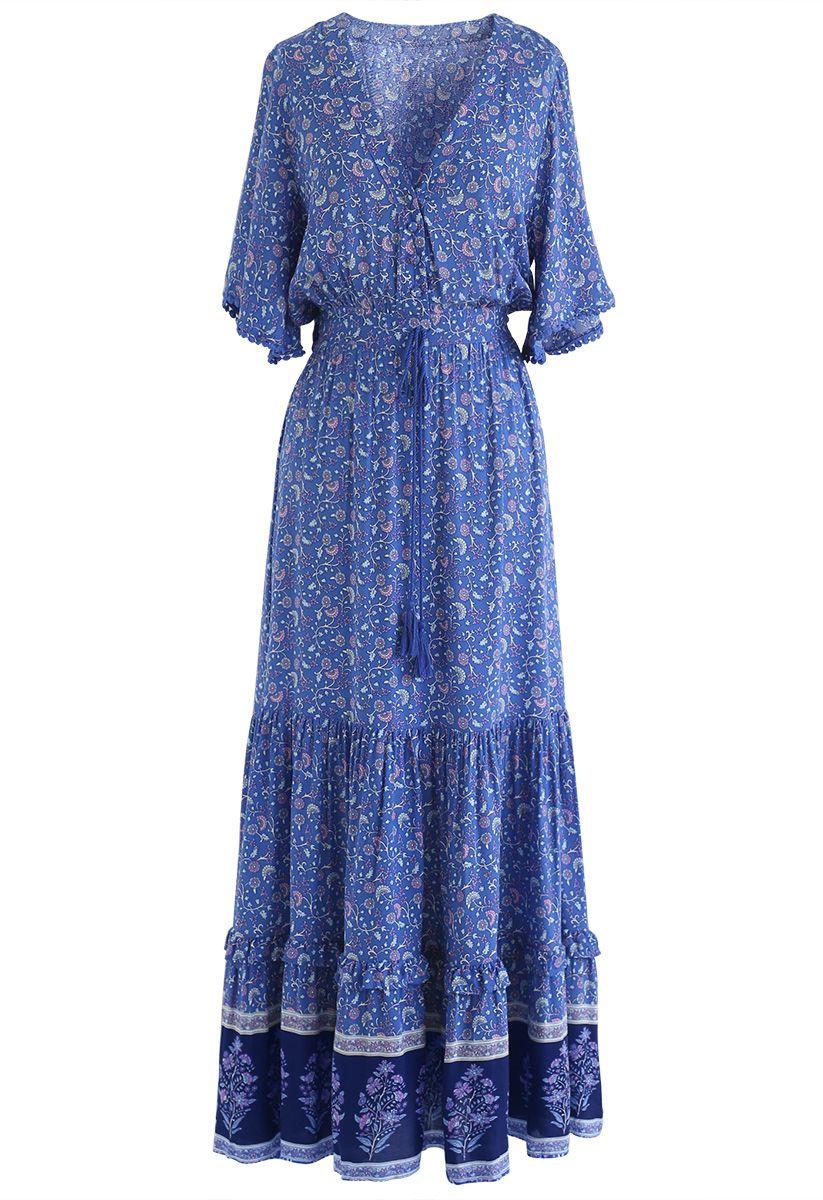 Last Nights of Boho Maxi Dress