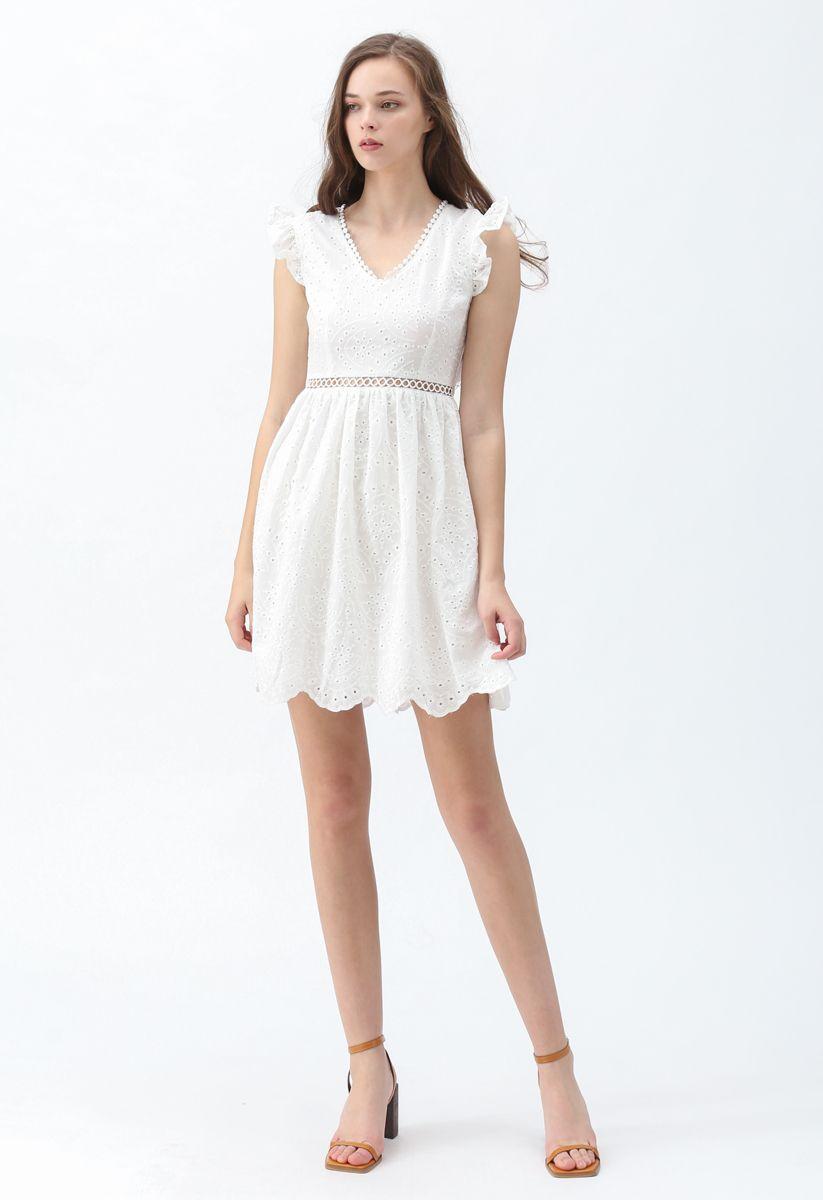 Dance of Romance Open-Back Sleeveless Dress