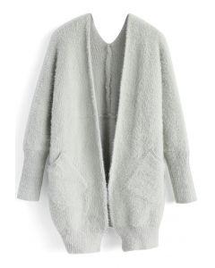 Comfy in Fascination Cardigan in Grey
