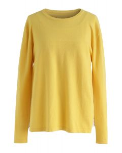Sweet Companion Two-Piece Smock Top in Yellow