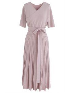 Effortless Charming Knit Dress in Pink